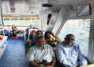 Paseo en barco 2017